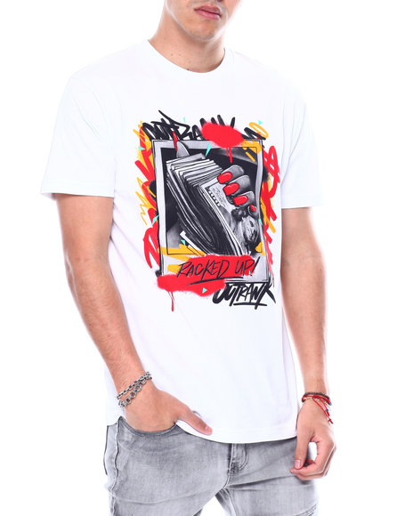 OUTRANK - Racked Up Tee