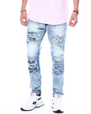 Jeans & Pants - Light Bleached Ripped Repair Jean-2483365