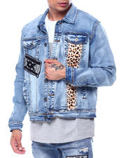 Outerwear - Patch Work Denim Jacket w Stars-2483544