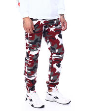 Spring-Summer-M - Camo Twill Joggers-2483712