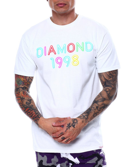 Diamond Supply Co - RADIANT NEON S/S TEE