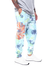 DJPremium - FASHION TIE DYE JOGGER-2472915