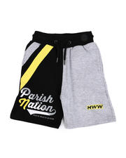 Boys - Color Block Shorts (4-7)-2483840