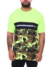 Men - Frozen Camo Colorblock T-Shirt (B&T)-2485085