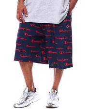 Champion - Script Filled Print Jersey Short (B&T)-2480623