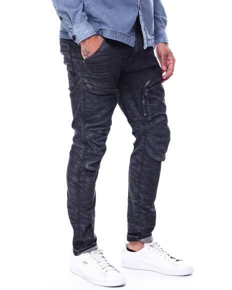 G-STAR - Air defence zip skinny  black superstretch Jean