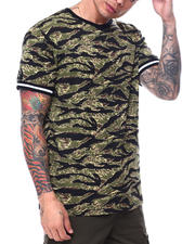 The Camper - Animal Print Tee-Tiger Camo-2484126
