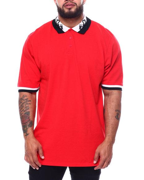 Buyers Picks - Embroidered Collar Polo Shirt (B&T)