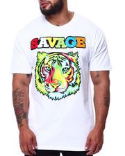 Short-Sleeve - Colorful Tiger Savage T-Shirt (B&T)-2485120