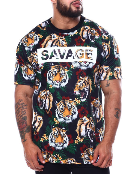 Buyers Picks - 3D Savage Tiger Print T-Shirt (B&T)
