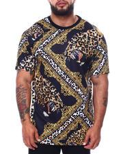 Big & Tall Faves - Leopard Print T-Shirt (B&T)-2485145
