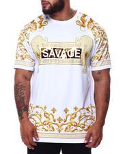 Big & Tall Faves - Savage Leopard Print T-Shirt (B&T)-2485155
