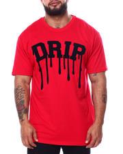 Big & Tall Faves - Chenille Drip T-Shirt (B&T)-2485165
