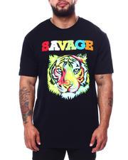 Men - Colorful Tiger Savage T-Shirt (B&T)-2485175