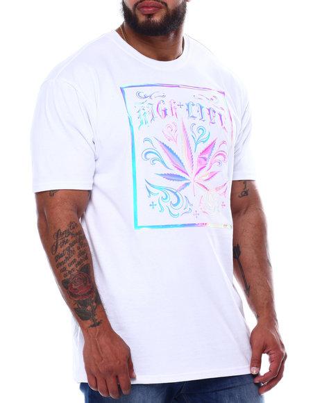 Buyers Picks - 3D Leaf High Life Iridescent T-Shirt (B&T)