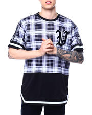 Buyers Picks - Plaid Baseball Tee-2485269