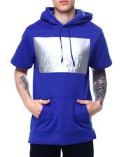 Hoodies - Hustler Metallic 3D Short Sleeve Hoody-2485362