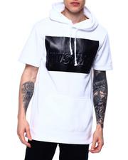 Hoodies - Hustler Metallic 3D Short Sleeve Hoody-2485368