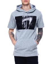 Hoodies - Hustler Metallic 3D Short Sleeve Hoody-2485374