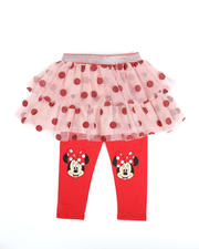 Sizes 2T-4T - Toddler - Minnie Mouse Face Dot Skegging (2T-4T)-2482382