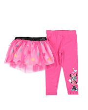Bottoms - 2 Pc Minnie Heart Tutu & Leggings Set (2T-4T)-2482418