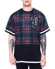 Stylist Picks - Plaid Baseball Tee-2483630