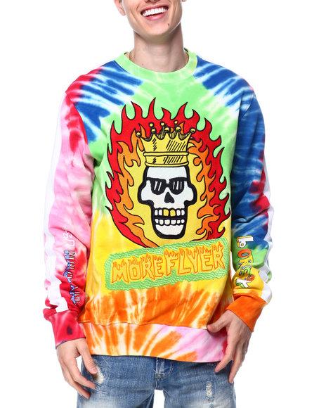 Born Fly - Trendy Tie Dye Crewneck Sweatshirt