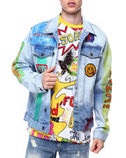 Born Fly - Sporty Denim Jacket-2485307