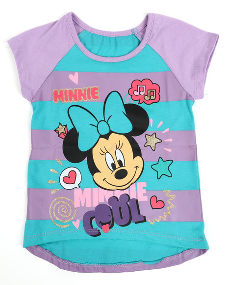 Disney - Minnie Mouse Cool High Low Tee (2T-4T)