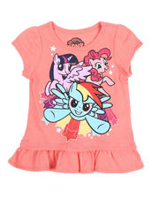 La Galleria - My Little Pony Ruffle Tee (2T-4T)-2482344