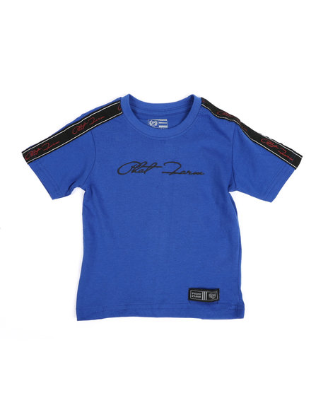 Phat Farm - Signature Side Tape Crew Neck T-Shirt (2T-4T)