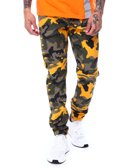 Buyers Picks - Camo Twill Joggers