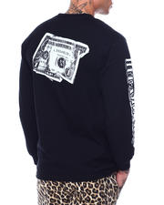 HUF - DEATH & TAXES L/S TEE-2484284