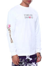 Diamond Supply Co - HEART OF L/S TEE-2484433