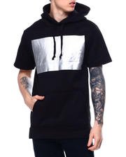 Men - Hustler Metallic 3D Short Sleeve Hoody-2485356