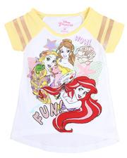 Girls - Disney Princess Wow Fun Hi-Low Tee (2T-4T)-2485480