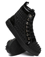AURELIO GARCIA - High Top Spike Sneakers-2486684