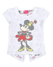 Sizes 2T-4T - Toddler - Minnie Mouse Comic Split Back Tee (2T-4T)-2485467