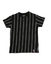 Phat Farm - Printed Stripe Crew Neck T-Shirt (4-7)-2485627