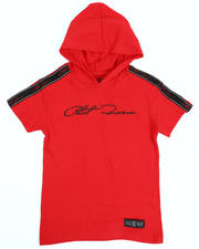 Phat Farm - Signature Side Tape Hooded Tee (4-7)-2485494