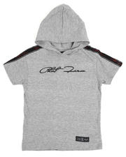 Phat Farm - Signature Side Tape Hooded Tee (4-7)-2485504