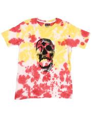 Tops - Tie Dye Tee W/ Graphic Print (8-18)-2485551