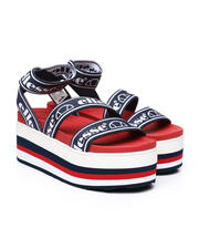 Womens-Holiday - Elina Text Sandals-2485809