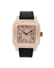 Buyers Picks - Fully Iced Out Square Dial Watch-2487053