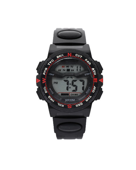 Buyers Picks - 44MM Cardinal Bezel Digital Watch