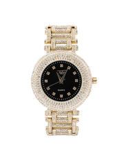 Jewelry & Watches - Iced Out Watch X Skeleton Band-2486991