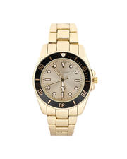 Jewelry & Watches - 45MM Diving Bezel Metal Band Watch-2487006