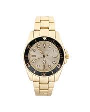 Buyers Picks - 45MM Diving Bezel Metal Band Watch-2487006