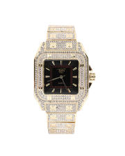 Jewelry & Watches - Fully Iced Out Square Up Watch-2487057