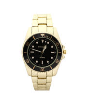 Jewelry & Watches - 45MM Diving Bezel Metal Band Watch-2487069